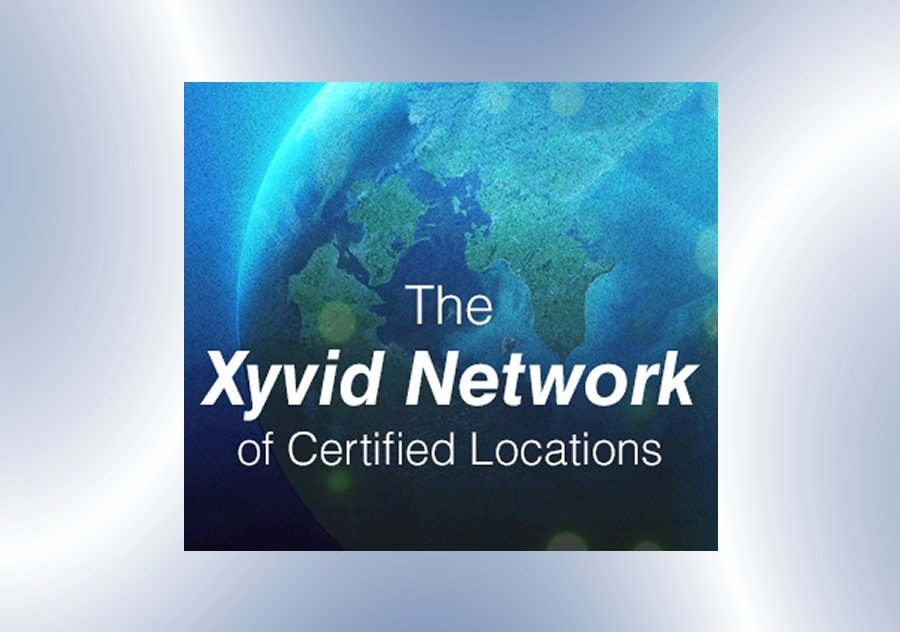 image with content: the xyvid network of certified locations