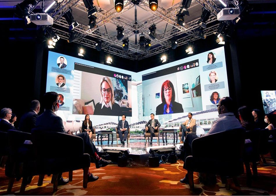 virtual corporate meetings and webcasts