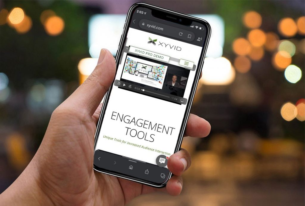 hybrid events audience engagement tools